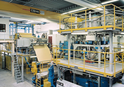 Flexible sheet extrusion lines