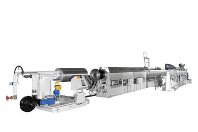 Foam extrusion lines